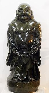 vintage jade buddha