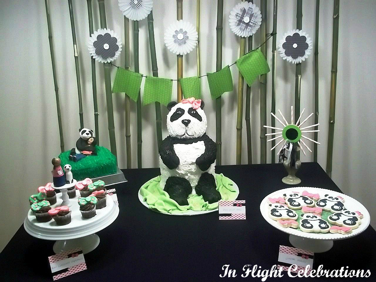 Panda Party Decorations: In Flight Party Ideas: A Panda Party {13th Birthday