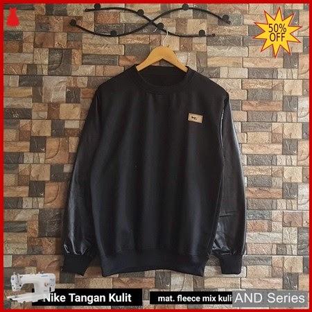AND346 Sweater Wanita Nike Tangan Kulit BMGShop