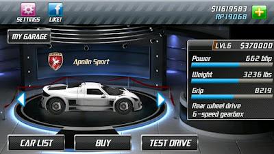 Instal Drag Racing Mod Money Full Version