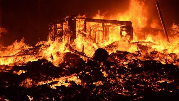 Bakongan Terjadi Kebakaran Hebat, puluhan rumah terbakar