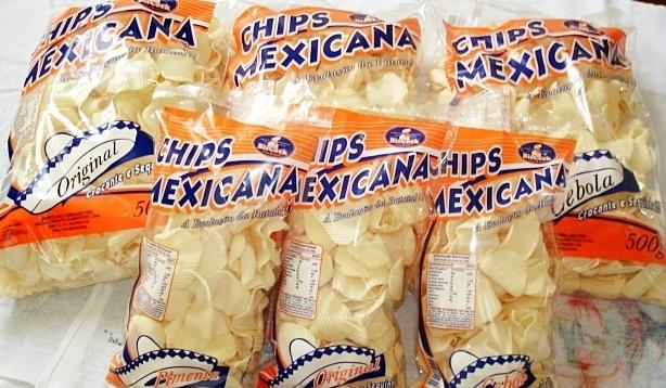 Sabores batata Chips Mexicana
