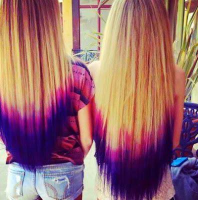 cortes y peinados del mundo mechas de colores