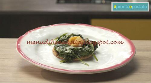 Pronto e postato - Tuorlo fritto ricetta Benedetta Parodi