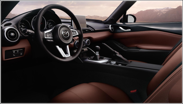 Mazda MX-5 Miata RF Launch Edition Auburn Nappa Leather