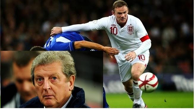 Pelatih Roy Hodgson Terus Memantau Wayne Rooney