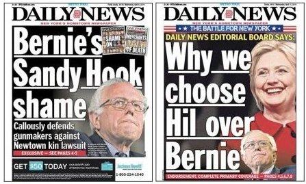 Hillary Clinton's shame, not Bernie's