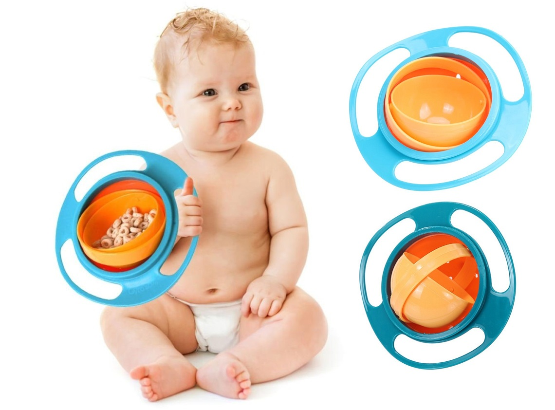 With Gyro Bowl, your children will be given a chance to eat on their own