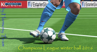 Champions League Winter Ball Leaked 2016-17