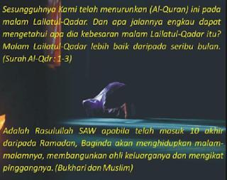 Keutamaan Kemuliaan Malam Lailatul Qadar