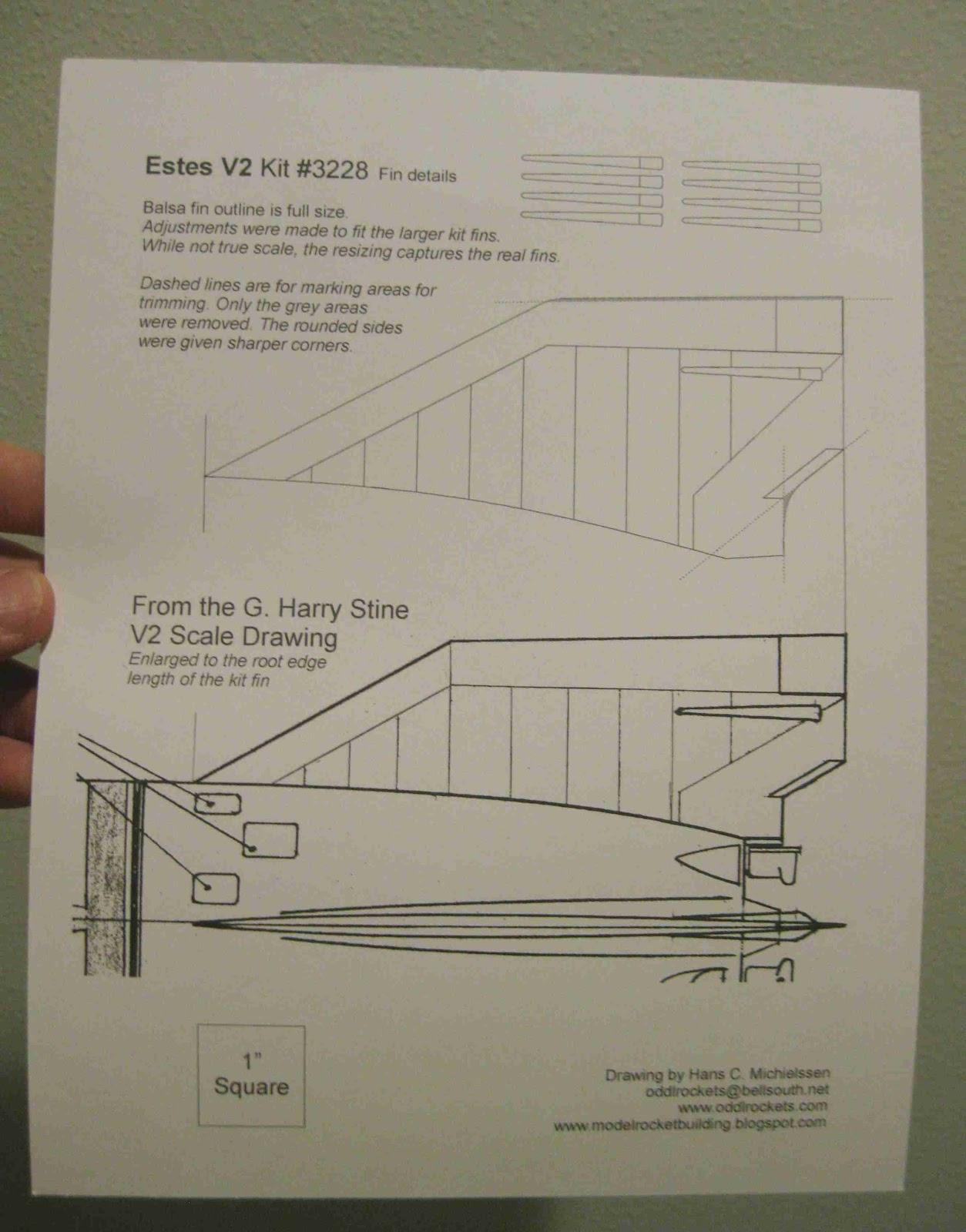 medium resolution of estes v2 semi scale model rocket 3228
