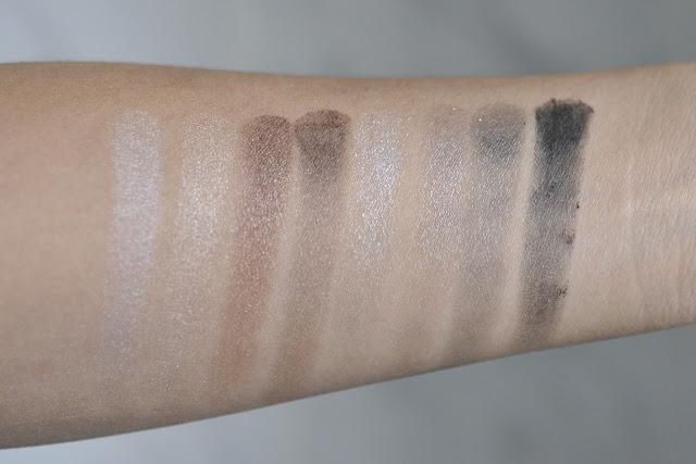 Sephora Collection the Delicate Eyeshadow Palette Swatches