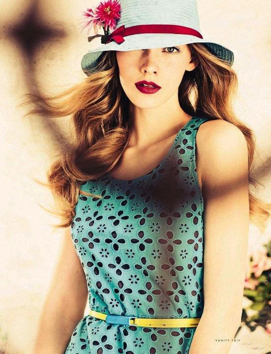 Fashion Editorial | Piccole Donne: Vanity Fair Italia July 2013