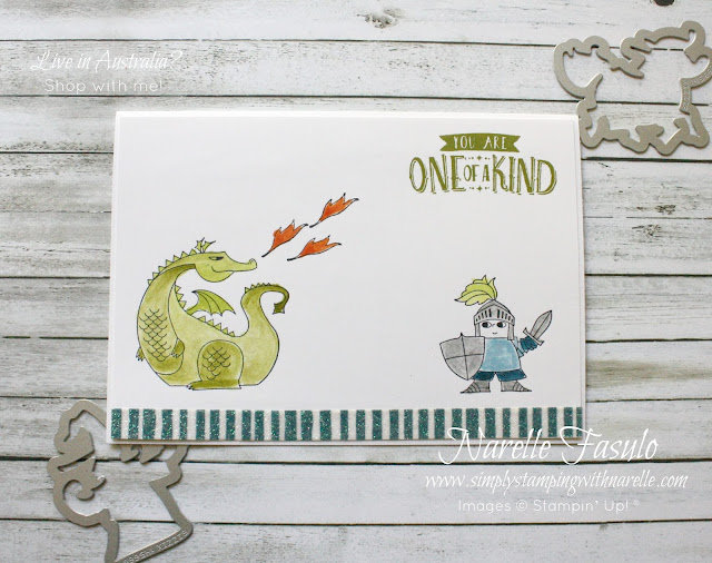 Celebrate your little knight in shining armour and make him a card to celebrate his imagination. Get these great products here - http://bit.ly/2ru8qnQ