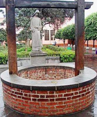 Foto del pozo de los deseos de Santa Rosa de Lima en el Centro de Lima