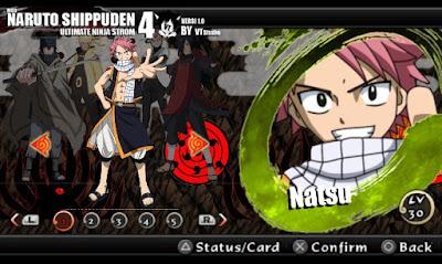 Naruto Impact Mod Texture Char Natsu Apk Android