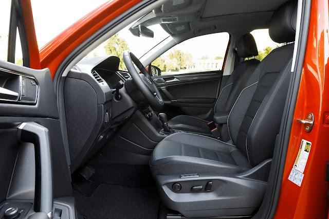 Novo VW Tiguan 2018 - espaço interno