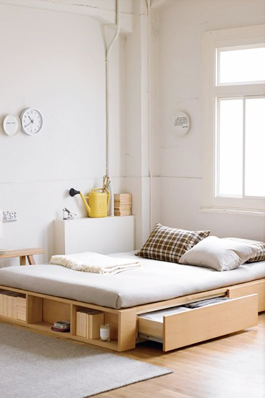 saving space ideas for your bed room the grey home