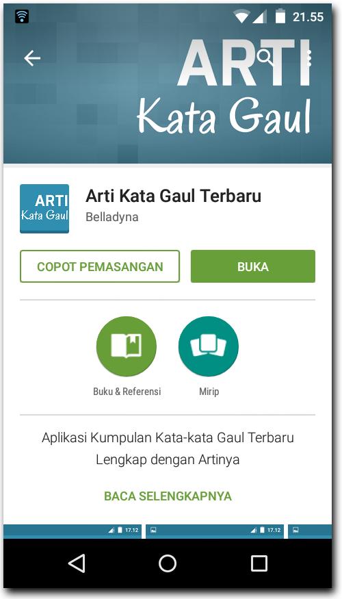 Kata Gaul Status Update BBM Android