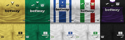 PES 6 Kits Club Deportivo Leganés Season 2018/2019 by VillaPilla