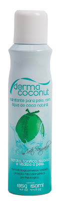 Dermacoconut by Ivete Sangalo Spray Hidratante para Pele com Água de Coco Natural - 150 ml