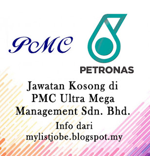 Jawatan Kosong Terkini di PMC Ultra Mega Management Sdn. Bhd