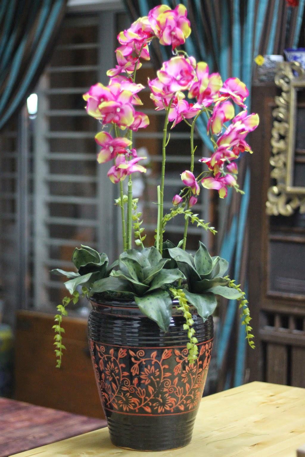 Gubahan Bunga Sudut Ruang Tamu Desainrumahid com