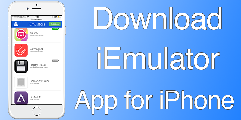 Download iEmulator for iPhone