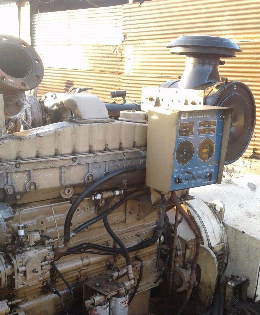 Cummins Delco NTA855DM Diesel Generator Set 250 kW - 440V 1800 RPM