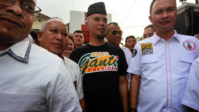 Gak Kapok, Ahmad Dhani Siapkan Surabaya Ganti Presiden 2019