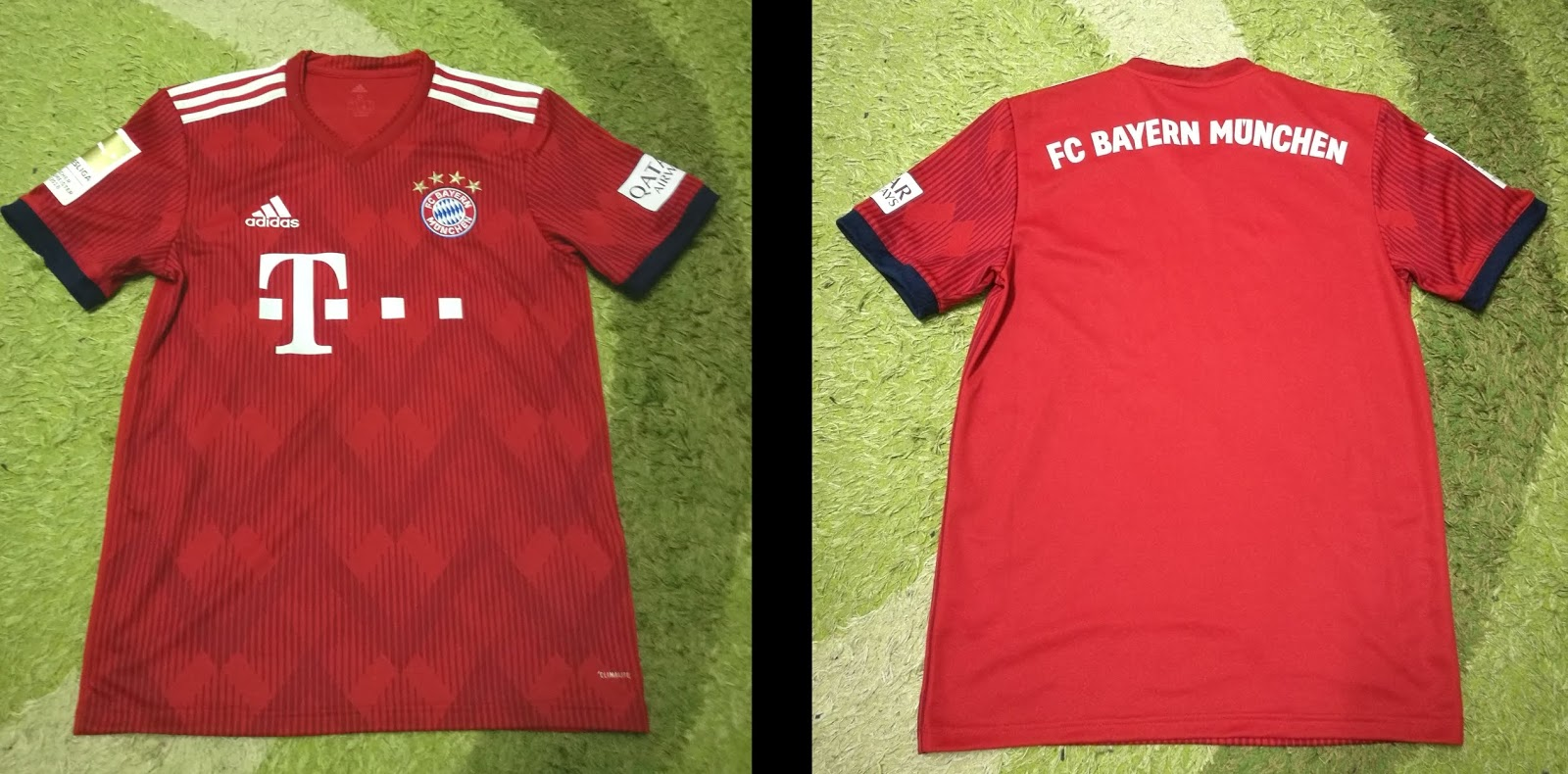 san francisco 935ae f7069 A.J's Football Jersey Collection: FC Bayern Munich 2018/19 Home