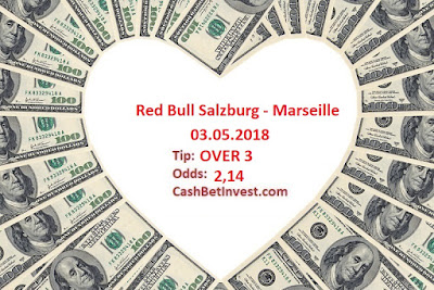 Red Bull Salzburg - Marseille 03.05.2018 - Cash Bet Invest