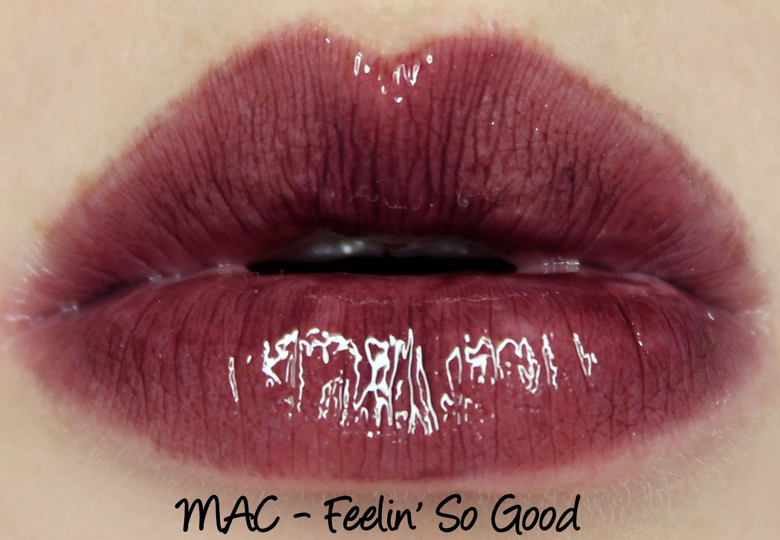 MAC Monday: Archie's Girls - Feelin' So Good Lipglass Swatches & Review