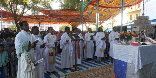 पंचकुई कुपाओं की माता मरियम का वार्षिक तीर्थ महोत्सव आयोजित