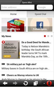 Opera Mini 7.5 Final for Android