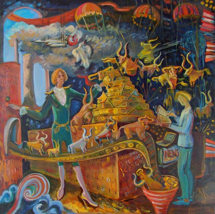 Талантливая художница из Нидерландов. Ольга Квасова