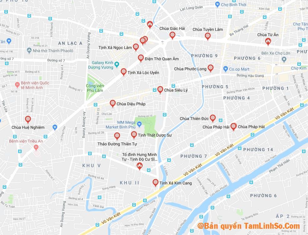 Quận 6 là quận có thể nói là nhiều chùa nhất tại Sài Gòn