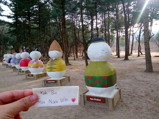 kak sue di nami island korea