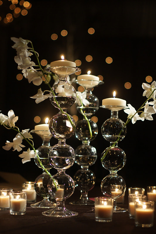 Knestrick By Design White Orchids And Candlelight