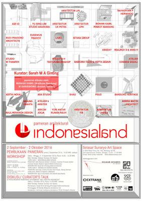 Pameran Arsitektural Indonesialand 2016