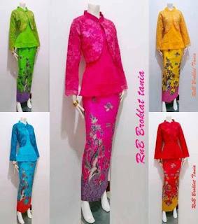 model baju batik setelan guru