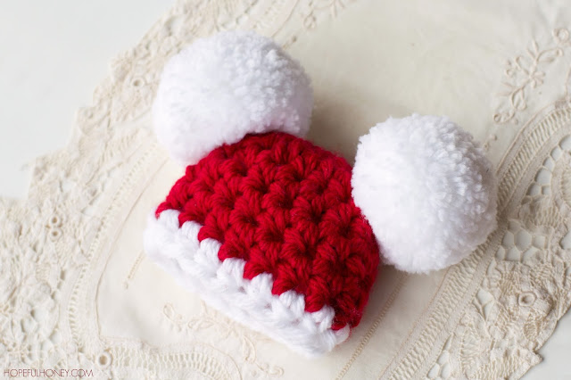 Hopeful Honey Craft, Crochet, Create: Baby Santa Claus ...