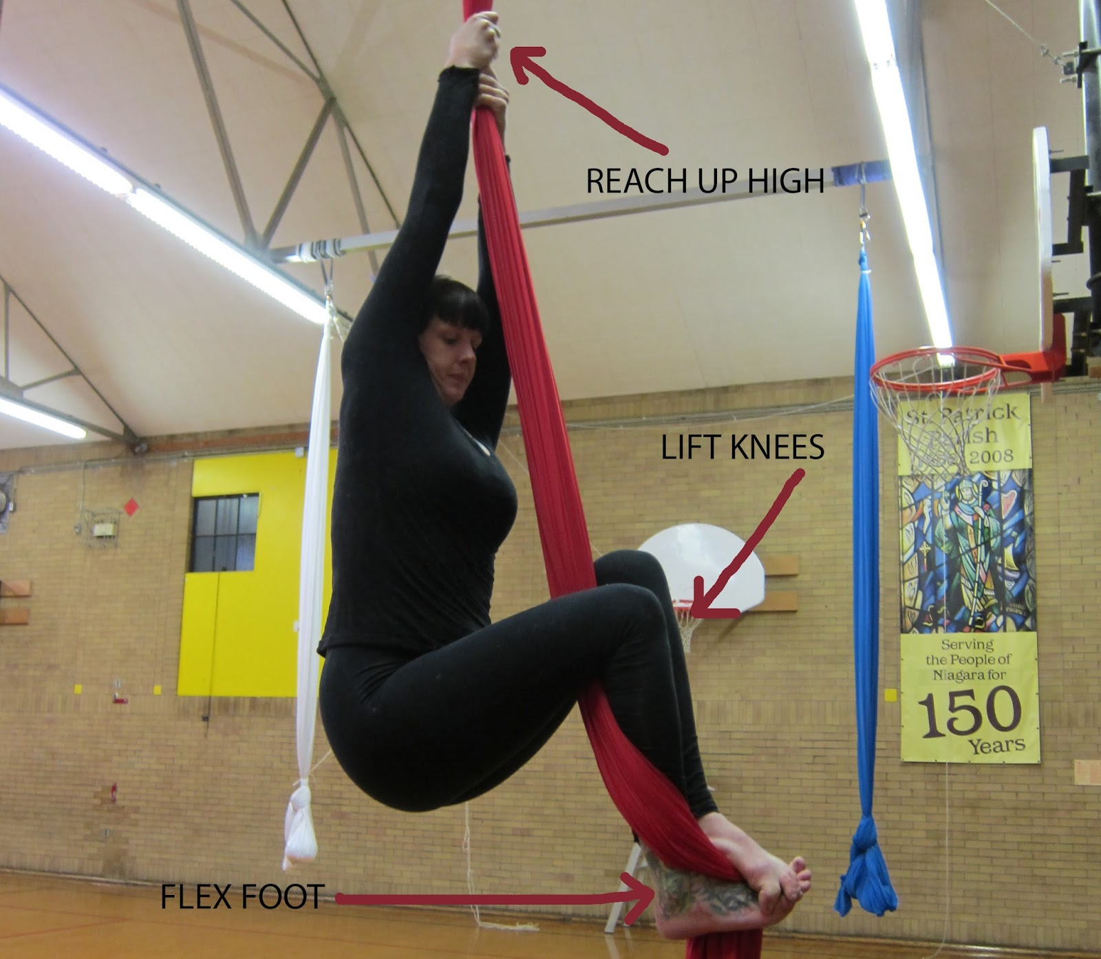5 Tips On Climbing Aerial Silks Aerial Reflections