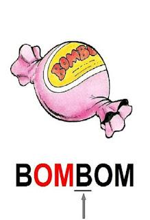 Cartaz sílaba complexa bombom