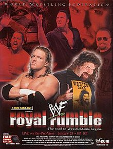 WWE / WWF Royal Rumble 2000 - Event poster