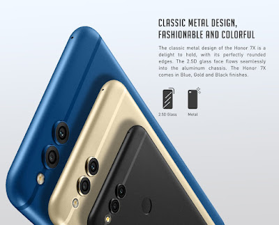 Honor 7X with dual cameras, 18:9 display to come to India on December 5