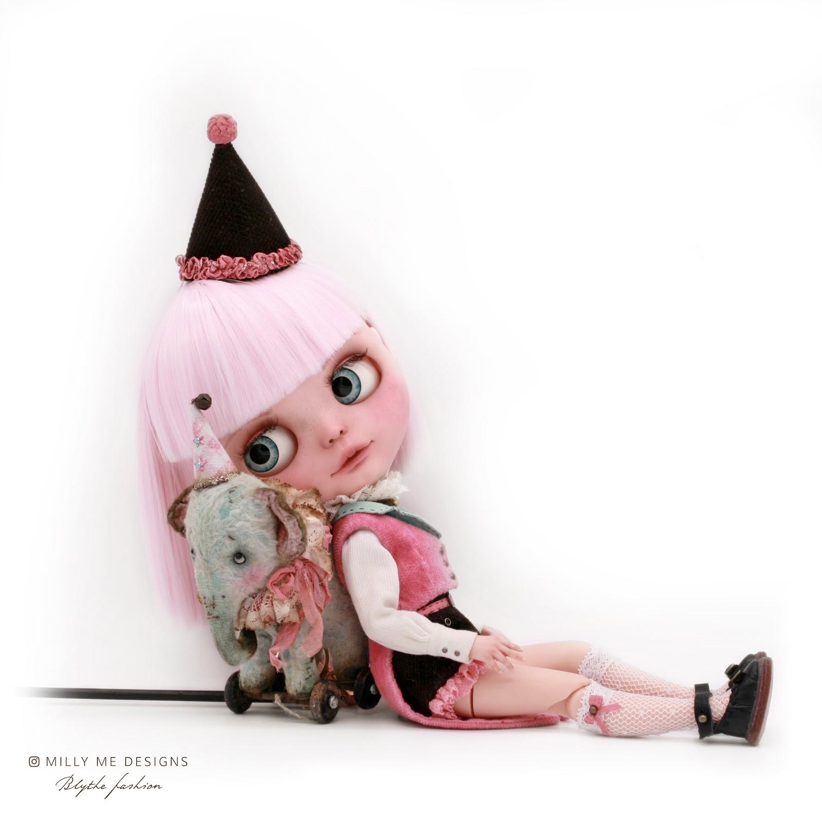 blythe, blythe dress, blythe outfit, blythe clothes, mini toy blythe, custom blythe, ブライス, ブライス人形, ブライスドール, カスタムブライス