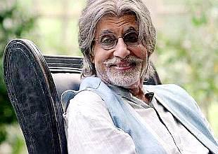 Foto de Amitabh Bachchan luciendo más viejo