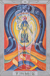 Magical Evolution of Consciousness: Crowley-Thoth Tarot trump The Aeon XX