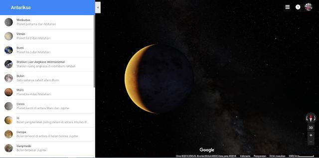 Menjelajahi luar angkasa-Tool Google Yang Belum Anda Ketahui dan Wajib dicoba